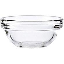 Set of 2 Round Glass Bowls