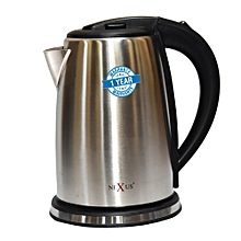 NXK-KET-4011 Stainless Steel Kettle - 1.7 Litres - Silver