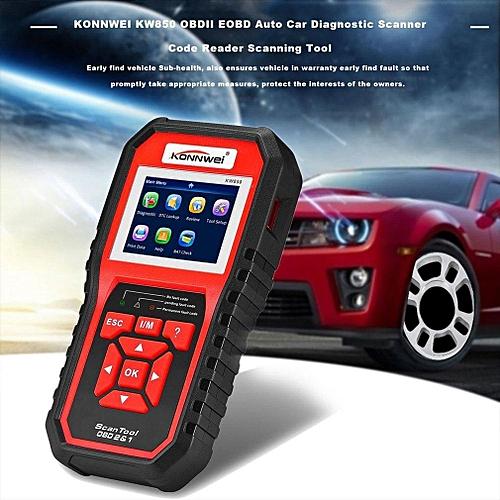 KW850 OBDII EOBD Auto Car Diagnostic Scanner Code Reader Scanning Tool LBQ