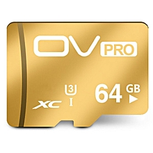 OV UHS I U3 Storage Memory Card 3.0 Pro Class 10 64GB TF Card for iPhone Mobile Phone