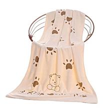 Handkerchief Bathing Towel Cute Microfiber Smile Bear Absorbent Infant Feeding Cloth Shower Product Children