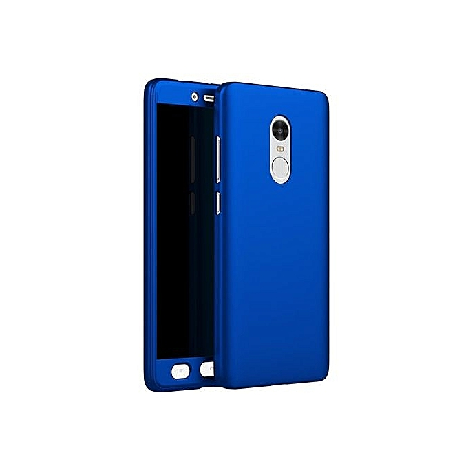 Luxury 360 Degree Full Body Protection Cover Case For Xiaomi Redmi Note 4 5.5 Inch With