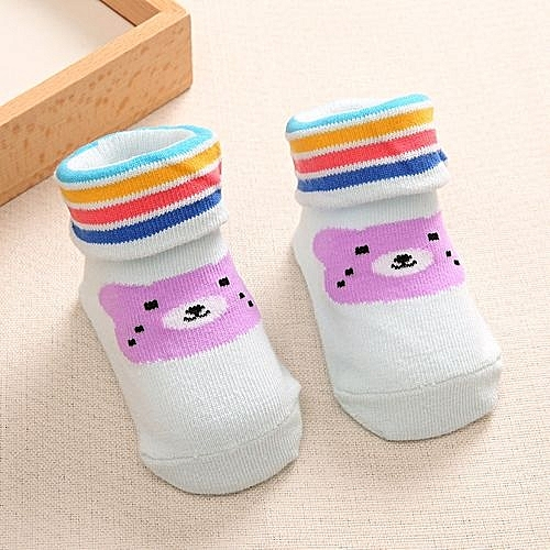 Buy Generic 3 Pair Of Autumn Winter Baby Socks Thick Cotton Baby