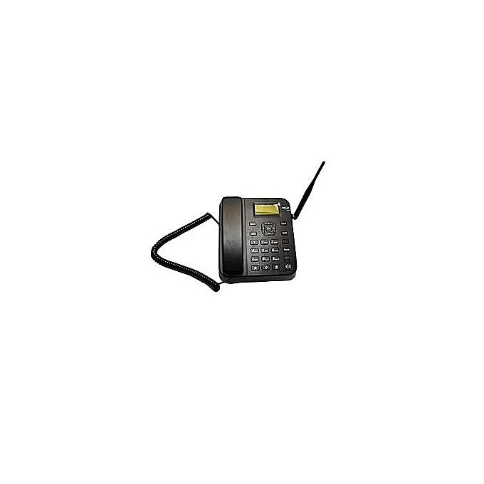 GSM Desktop Phones Topsonic s100 landline with Dual sim card slot