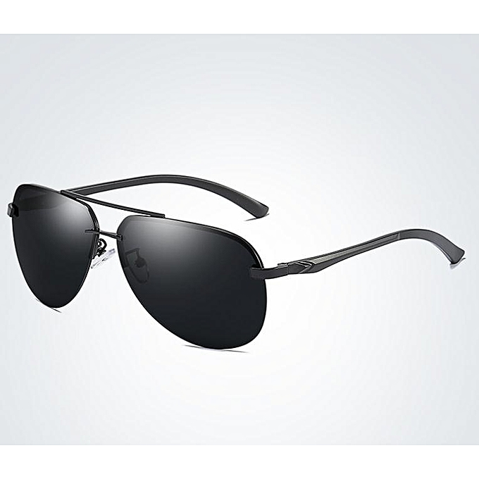 40c16d9434 Men and women new classic polarized sunglasses series colorful film-black