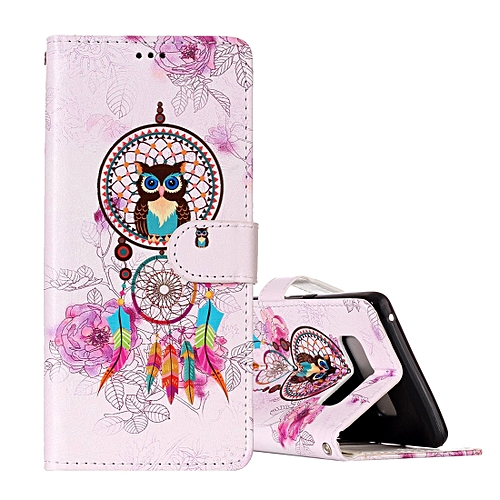 Generic For Galaxy Note 8 Colorful Dream Catcher Owl Pattern