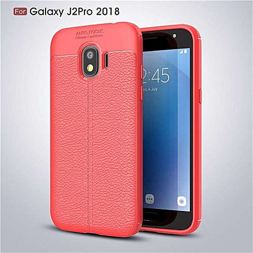 check out 3aa6b be2a6 Fashion Slim Phone Case Leather Slim Shockproof Silicone TPU Cover For  Samsung Galaxy J2 Pro(2018)/Samsung Galaxy Grand Prime Pro 5.0 Inch