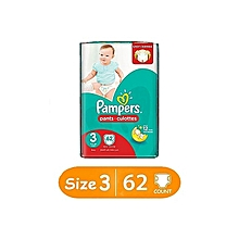 Diapers, Pants , Size 3, Jumbo Pack (Count 62)