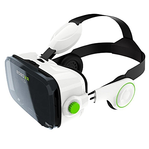 a9adfd57da7 UNIVERSAL BOBOVR Z4 3D Virtual Reality 3D VR Glasses Private Theater For  3.5 - 6.0 Inches Mobile Phones Immersive+white Bluetooth Mouse  Gamepad(White)