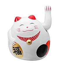 Maneki Neko Welcoming Fortune Cat Waving Doll Cute Cartoon Doll Lucky Cat-