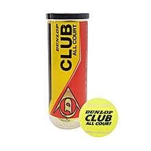 Club All Court Tennis Balls - Yellow