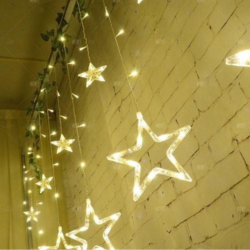Strict 10m Led Star String Lights Ac220v Festival Decoration Waterproof Lamp String Warm White 100pcs Led Fairy Light Strip Holiday Led Lustrous Surface Lights & Lighting