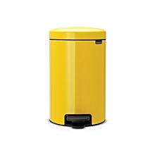 113567 - Newicon Pedal Bin 12L - Daisy Yellow