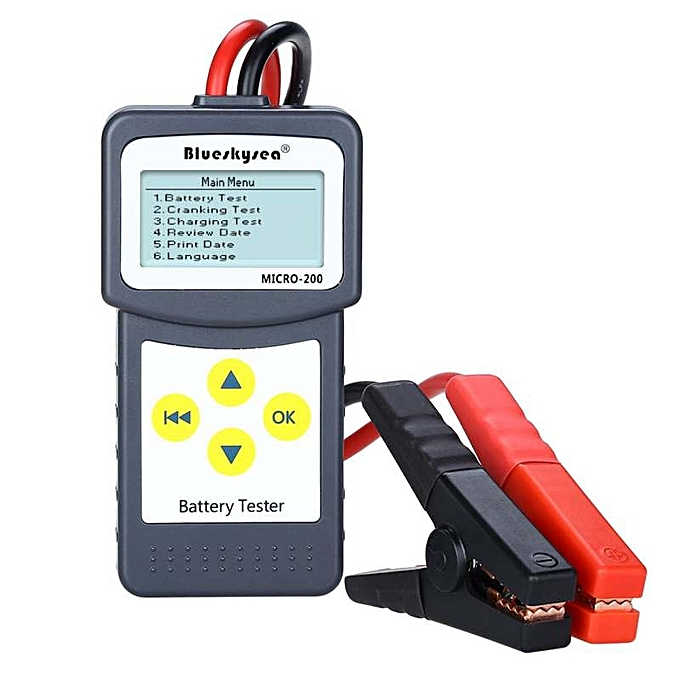 New arrivel Blueskysea MICRO-200 12V Car Battery Load Tester/Battery  Analyzer Diagnostic tool Lead-acid