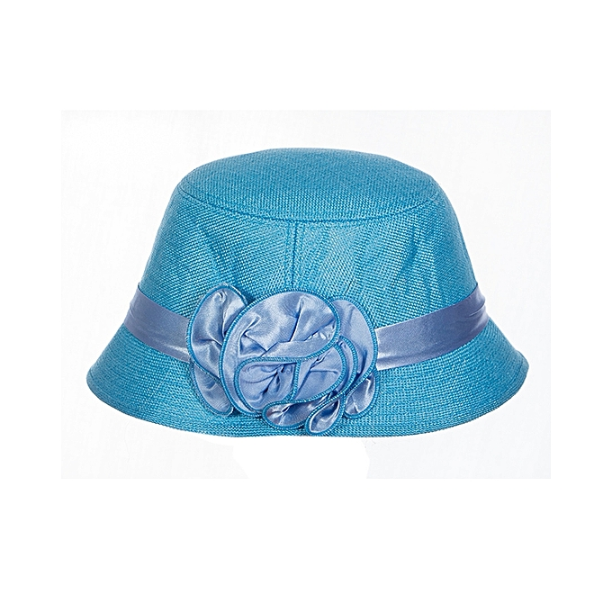 ab7fe1d851a Generic Sky Blue Summer Hat   Best Price