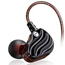 QKZ KD4 Dual Drivers HIFI Wired In ear Earphone Earbuds With Microphone