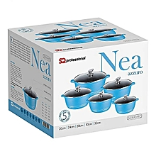 Nea Diecast  Non stick cooking pots 5 pc