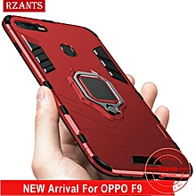 Rzants For OPPO F9,Realme 2 Pro Case [Armor Ring] Shockproof Hybrid Armor Man Hard Phone Casing