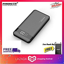 PINENG PN962 20000MAH QC3.0 PowerBank Li-ion Polymer 3USB output and 3 Input PN 962 PN-962 BGmall