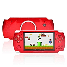 8GB 4.3-Inch TFT Screen Mp4 MP5 Player Game Player Supports Psp Game Camera Video E-book Music (Red)