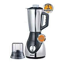 ABL-782SS - 1.5L - 4 speed with Pulse - Blender - Unbreakable Jug - 400W - Chrome & Black