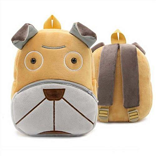 860bdbc694 2018 Plush Children Backpacks Kindergarten Schoolbag 3D Cartoon Zoo Animal  mochila infantil Children School Bags for