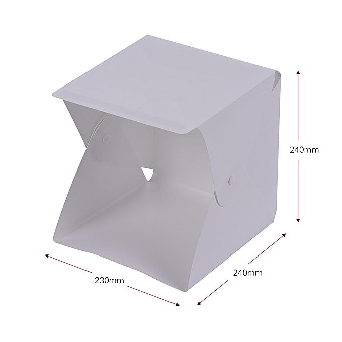 Diy Led Studio Light: Generic Portable DIY LED Studio Light Box Tent Kit Mini