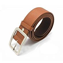 Xiuxingzi_Men's Casual Faux Leather Belt Buckle Waist Strap Belts