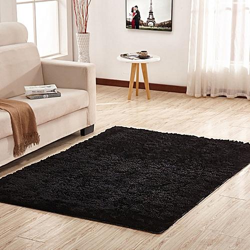 Super Soft Modern Shag Area Silky Smooth Rugs Living Room Carpet Bedroom Rug  For Children Play