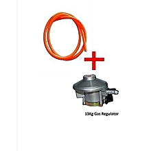 Gas Delivery Pipe Plus Free 13Kg Gas Regulator