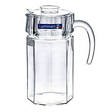 Octime Jug/Pitcher 1.7L with Lid - Glass .