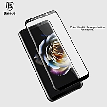 Baseus Screen Protector For Samsung Galaxy S8 / S8 Plus Full cover 3D Arc Tempered Glass For Galaxy S8 Protective Glass Film ( This product link is only for Samsung Galaxy S8 Plus ) MQSHOP