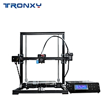 Tronxy X3A High Precision Desktop 3D Printer DIY Kit Large Printing Size 220*220*300mm with LCD Screen Auto leveling Sensor Support TF Card USB Interface