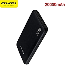 20000mAh Powerbank slim portable and with Fast Charge Output