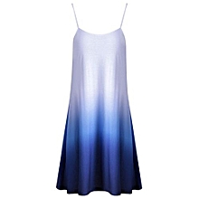 Women Ombre Cami Dress - Blue