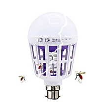 Finest Mosquito Killer LED Bulb 3 Modes Insect Repellent Night Light 15W Pin Type