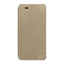 One E8 - Dot View Touch Sense Case - Gold