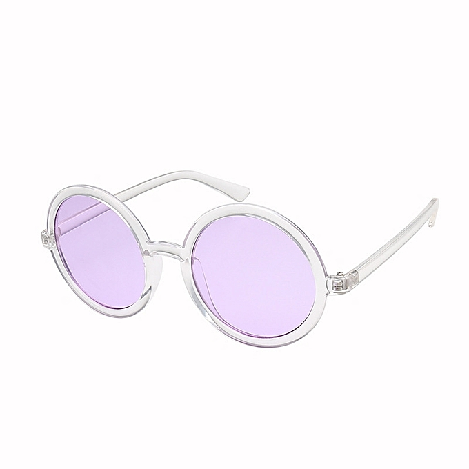 daf12d268ab9 Generic Nice Fashion Europe and the United States round sunglasses men and women  sunglasses travel marine film wild glasses-purple