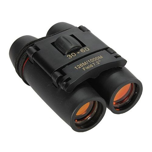 30 X 60 Zoom Mini Compact Binocular Telescope 126m To 1000m Day And Night Vision - Multi