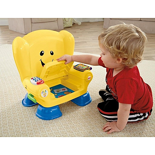 b380d3756e Fisher Price Fisher-Price Baby Chair Smart Stages Educational Yellow Chair Fisher  Laugh Learn Baby Toddler Toy, Laugh & Learn Smart Stages Chair
