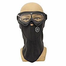 Windproof Keep Warm Scarf Face Mask and CS Goggles Dustproof