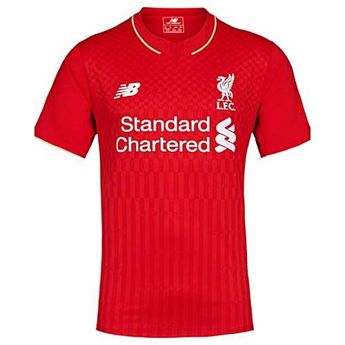 86079f643 NEW BALANCE 2015-2016 - Replica Liverpool FC Home Kit - Red   Best ...