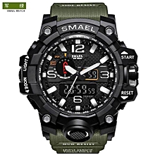 The Explosion Men's Sport Digital LED Clock  Army  Wristwatch 50M Waterproof Military Watches