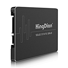 KingDian S200 Solid State Drive SSD 2.5 Inch SATA3 4-CH For Computer Hardware-BLACK
