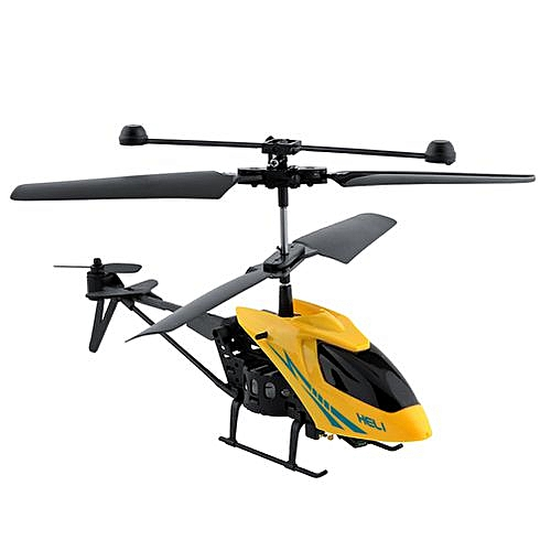Mini Shatter Resistant Remote Control Aircraft 2 5CH RC Helicopter Toy
