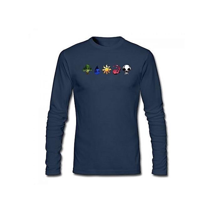 Buy Generic Magic The Gathering Symbols Mens Cotton Long Sleeve T