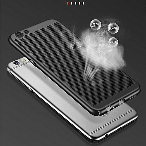 For OPPO F3 Plus Case Fashion Hollow Grid Slim Full Body Protective  Breathable Radiation Case Hard Plastic Housing Cover For OPPO F3 Plus Phone  Shell