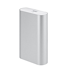 HP-8400mah Power Bank External Portable Mobile Phone USB Charger for XIAO MI silver