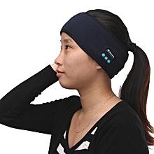 141983482579 Bluetooth Stereo Headphone Sports Headset Wireless Headband w/Mic for iPhone 7 -black