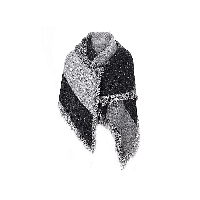 ZANZEA Pashmina Cashmere Stole Scarves Shawl Wraps Winter Women Thick Warm  Wool Capes - Intl